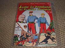 CINO E FRANCO #1 EDIZIONI NERBINI 1949 SOTTO LA BANDIERA DEL RE DELLA JUNGLA