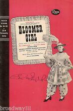 """Celeste Holm (Signed) """"BLOOMER GIRL"""" Harold Arlen 1944 Decca Records Booklet"""
