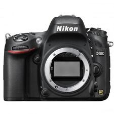Nikon D610 24.3MP Digital SLR Camera - Black (Body Only)
