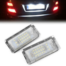 18 LED License Plate Light Lamp Waterproof White For BMW 3 Series E46 4D(Fits: M3)