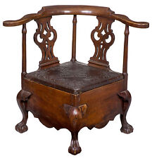Swc-Fully Developed Chippendale Commode Stool, c.1760