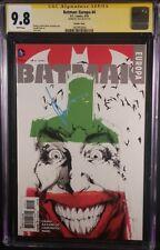 BATMAN EUROPA #4 CGC SS 9.8 SIGNED JOCK HARLEY QUINN JOKER CATWOMAN IVY DC COMIC