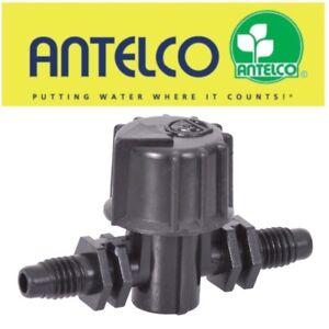4mm Micro Irrigation Filète en Ligne Valve / Tap Hozelock Compatible Hydroponie