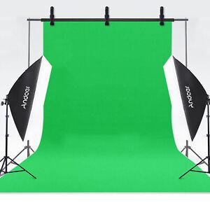 Andoer Fotografia Sfondo Schermo 1.8 * 2.8 M Ritratto Fondali Studio Verde U7D3
