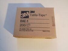 3m Tattle-Tape dac-1 200 PZ 75-0299-7521-8 Security STRIPS sicurezza brilla