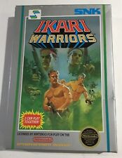 Ikari Warriors Nintendo NES Box Only No Game Hang Tab