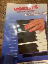 Getting Started Easy Electronic Keyboard Sheet Music Easy ABC Letter M 000001080