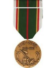 Iwo Jima Veteran Commemorative Medal and Ribbon