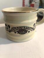 "Vintage Franklin Toiletry Barbershop Old Fashioned Luxury ""Shaving Mug"""