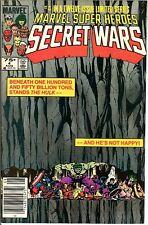 🔥Marvel Super Heroes Secret Wars #4 NM-🔥Layton Cover🎨Marvel Comics🔥CGC It🔥