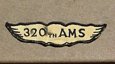 WW2 US ARMY Air Corps 320th AMS Air Maintenance Squadron SSI PATCH Insignia