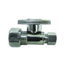 "Watts Pbqt-710 Quarter Turn Ball Valve 5/8"" Comp. x 3/8"" Comp, Free Shipping"
