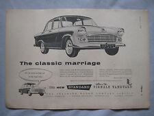 1959 standard VIGNALE Vanguard ORIGINALE annuncio
