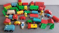 Vintage Wooden Wood ELC Early Learning Centre Trucks Houses Cars Trains