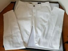 Adriano Goldschmied AG Jeans 'The Tristan' White R RRP £165 Size 25R - PANTS