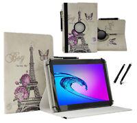 """Tablet Tasche 10.1"""" Hülle für Lenovo Tab M10 Schutzhülle Paris Blume 360"""