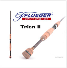 "Pflueger Trion PFLTII-SP661L Spin Fishing Rod 2-4kg 6'6"" 1 Piece + BRAND NEW"