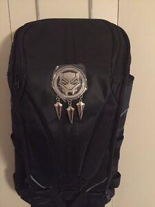 Black Panther Built Up Backpack - Marvel see description New /w Tags