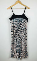 Piper Womens Maxi Dress Size 10 Crinkle Sleeveless Good Condition