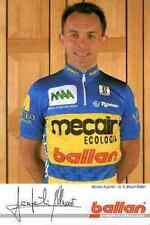 MORENO ARGENTIN Team MECAIR 93 Signed PRINT Autograph cycling cyclisme ciclismo