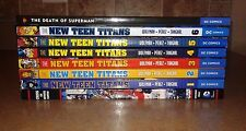 DC TPB Lot Perez Wolfman Crisis New Teen Titans Death of Superman