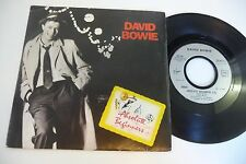 """DAVID BOWIE 45T ABSOLUTE BEGINNERS. VIRGIN FRENCH PRESS. 7"""""""