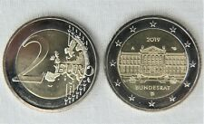 2019 Germany BUNDESRAT 2 EURO COIN - MINT UNC - MINT MARK A (Berlin) - NEW