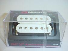 DIMARZIO DP223 PAF 36th Anniversary Bridge Guitar Pickup - WHITE REGULAR SPACING