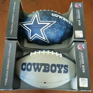 NFL Dallas Cowboys Football Set Of Two New In Box