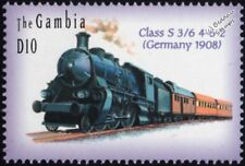 Royal Bavarian State Railway (Germany) Class S3/6 4-6-2 Steam Train Stamp #1