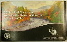 2013 America the Beautiful Quarter Silver Proof Set