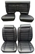 Mustang II Seat Upholstery 1974-1978  - Scotch Plaid Horizontal Design Pattern