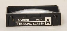 Canon Focusing Screen For  F1 ~ Type A