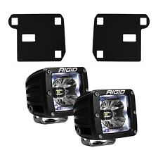 RIGID LED Fog Light Kit Radiance Lights White Backlight for 15-17 Chevy Colorado