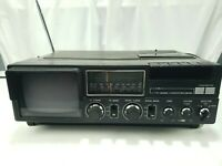 Vintage Liberty SN-500A Portable TV-Radio-Cassette Recorder