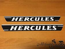 2 x Hercules Tank Aufkleber 70er Jahre P M 3 4 5 Sticker Herkules Schriftzug