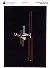 Photo Nasa Johnson Space Center Houston Texas Fev. 2001