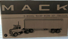 MACK R-Model Mack with 35' Tralier 1/34 scale Diecast Metal Replica