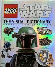 LEGO  Star Wars  The Visual Dictionary  Updated  Expanded  Mini Figure included