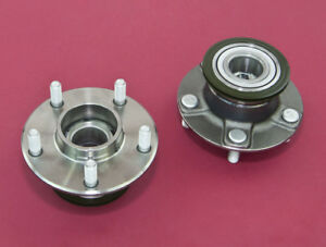 Front Wheel Non-ABS 5-Lug Conversion Hub 4x114.3 - 5x114.3 For 240SX 95-98 S14