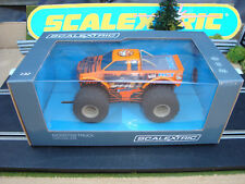 """Brand New Boxed Scalextric Monster Truck """"Bourguignon"""" - Plus CARS FOR SALE"""