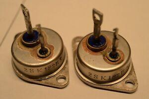 A Rough Matched Pair (2pcs) of 2SK182ES (without DATA)TOKIN SIT V-FET NOS
