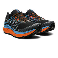 Asics Mens Trabuco Max Trail Running Shoes Trainers Sneakers Black Blue