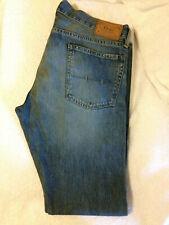 Men's Polo Ralph Lauren Authentic Dungarees blue denim jeans W33 L32
