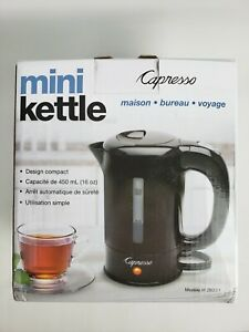 Capresso - Mini Kettle - 16 oz - Black - Model 280.01
