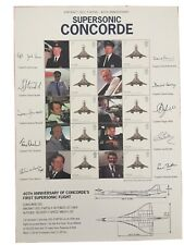 SUPERSONIC CONCORDE . RARE AND HARD TO FIND CONCORDE SHEET. NOT OFTEN SEEN