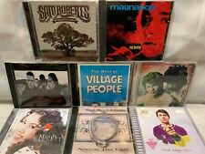 8 CD Lot U2 Village People HALL & OATES Mandy Barnett MAGNAPOP Sam Roberts