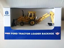 ERTL Ford/ New Holland Tractor Loader Backhoe 1/64 scale Die Cast