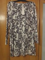 M & S Per Una Long T Shirt With Cotton BNWT Size 16