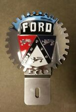 Ford  Accessory Grille Badge License Plate Topper,  A Great Gift Item, New